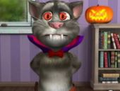 Ataque Talking Tom De Halloween